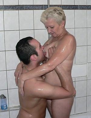 Nude MILF Tit Sucking Porn Pictures