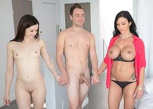 Nude MILF FFM Porn Pictures