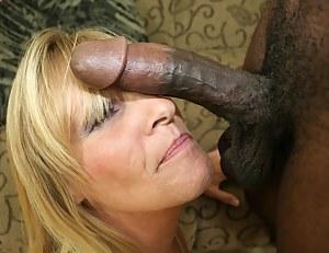 Nude MILF Big Black Cock Porn Pictures